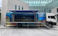 해양환경이동교실 차량 /사진제공=해양수산부